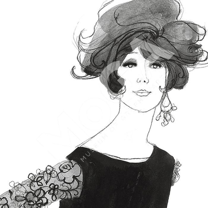 A model for Nina Ricci.