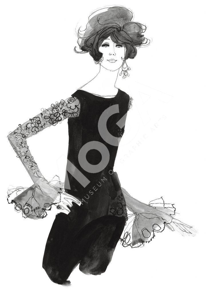 Paris, haute couture, tidigt 60-tal