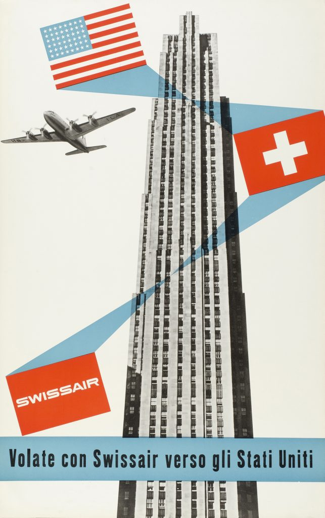 Swissair, 1959  Henri Ott.