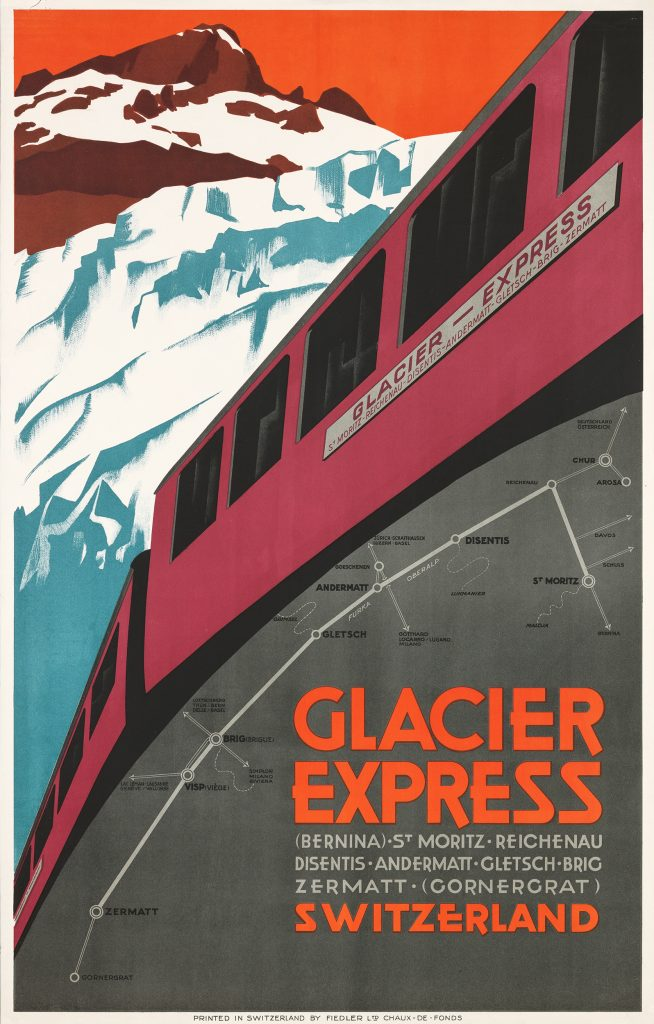 Glacier Express, 1925 Anonym.