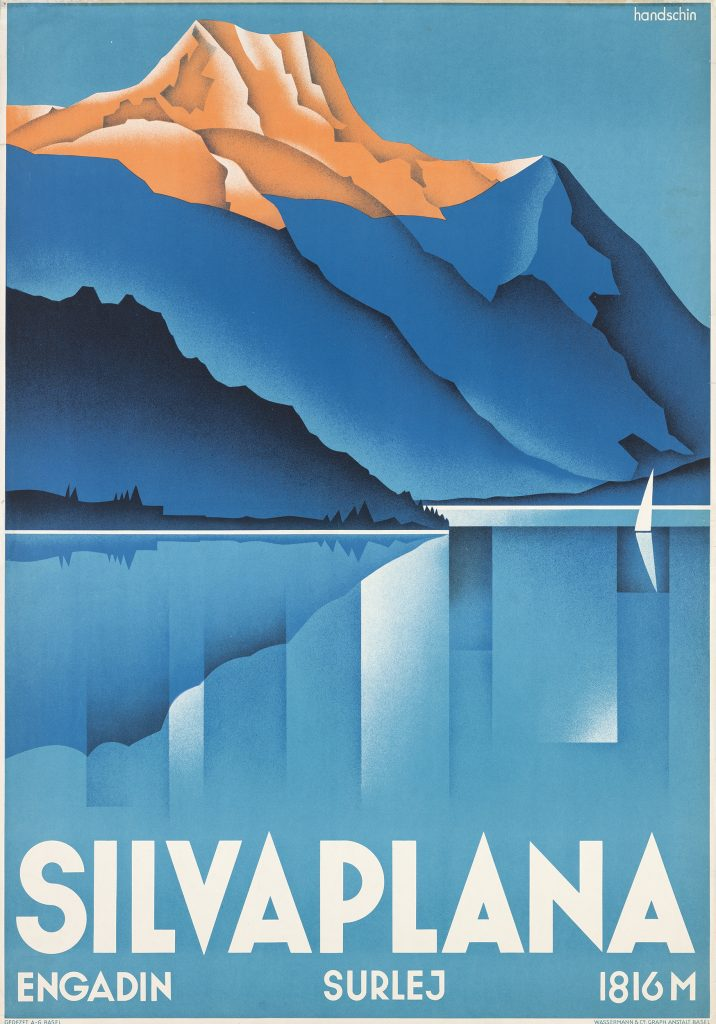 Silvaplana, 1934  Johannes Handschin.