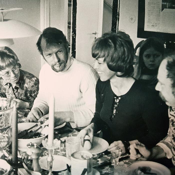 Ulla, Åke, Jane, Olle och Molly