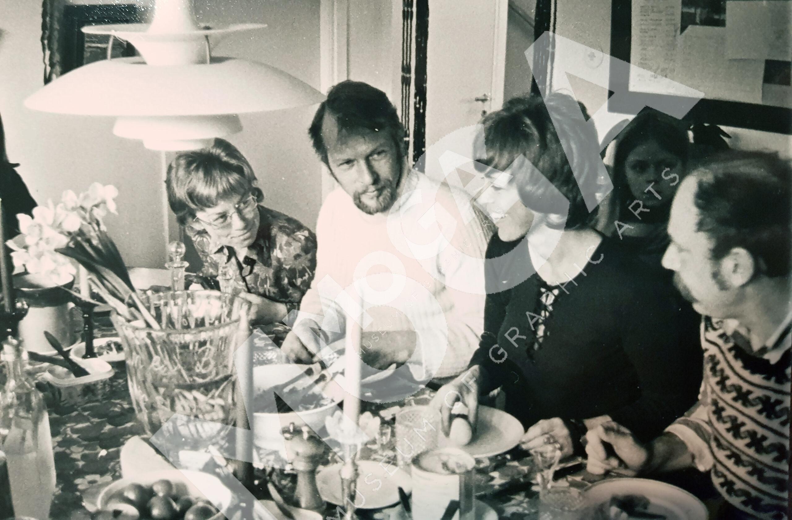 Lunch hos Barks på 70-talet.
