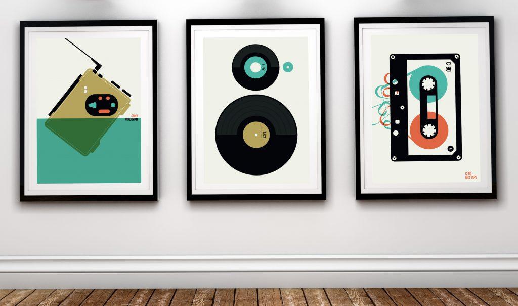Bo Lundberg städer och Sony Walkman och vinyl