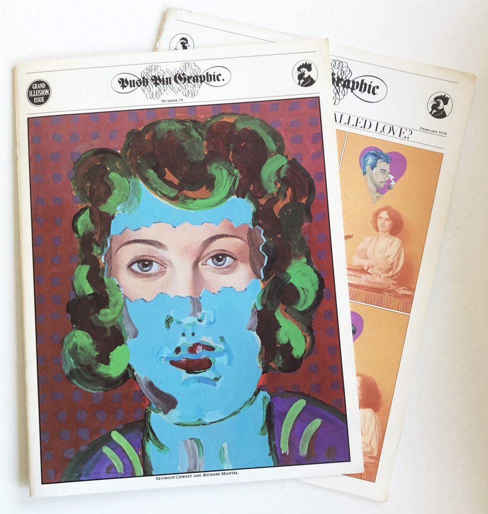 Push Pin Magazine utgavs av Push Pin studio. Idag en samlarraritet. I redaktionen fanns även bland andra Seymour Chwast.