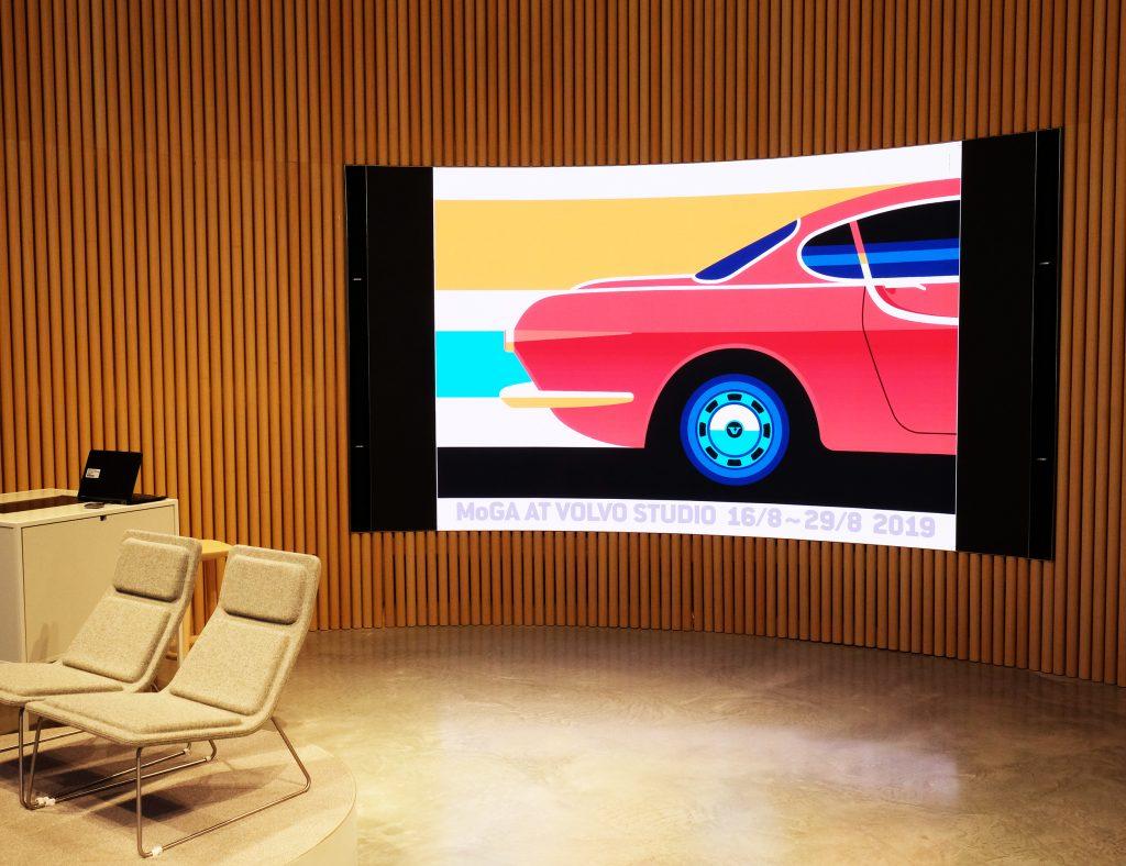 Volvo skärm